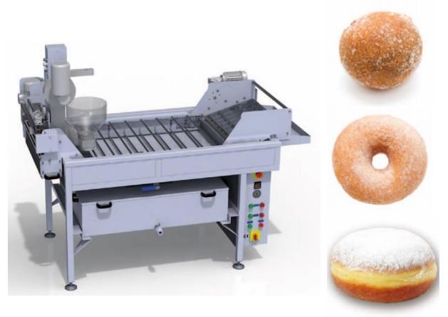 Автоматическая линия для пончиков