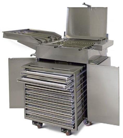Фритюрница для пончиков Берлинер от 360 шт/час с расстойным шкафом