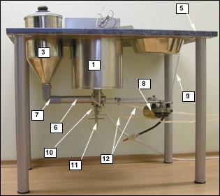 Пончиковый аппарат АПФ встроенный в стол