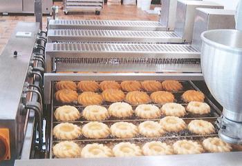 Потоковая линия для пончиков
