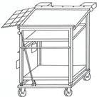 Подающий стол автоматической фритюрницы для пончиков берлинер или донатс